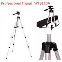 Professional Portable Aluminium Camera Tripod Stand For iPhone DSLR Camcorder