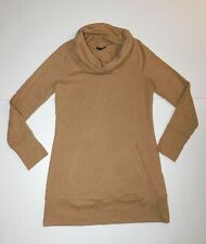 Massimo Women's size Small Pullover Tunic Top with Front Handwarmer Pocket Cowl