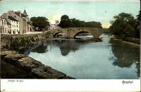 Kendal England Cumbria AK ~1900 Nether Bridge Brücke Stadt City Häuser Houses