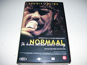 Normaal ( Bennie Jolink ) - Ik Kom Altied Weer Terug * VHS VIDEO 2001 *