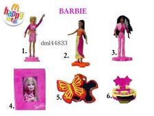 2002 McDonalds Barbie MIP Complete Set - Lot of 6, Girls, 3+