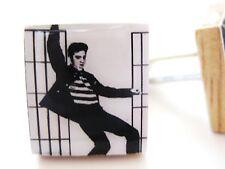 Elvis Cufflinks  Classic Elvis Presley Cufflinks Rock Music Artist Handmade gift