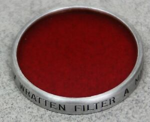 Series V 5 30mm Drop-In Filter KODAK WRATTEN 25 (A) RED B&W CONTRAST USA