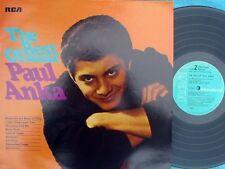 Paul Anka ORIG GER LP Best of Paul Anka NM '71 RCA 12 TRKS Teen Idol AM Pop