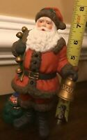 Santa Claus Figurine Holidays Christmas Ceramic Collectible