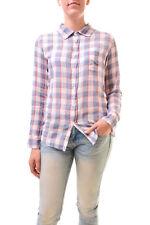 Sundry Women's Basic Checked Shirt Long Sleeve Plaid Size US1 RRP £120 BCF77
