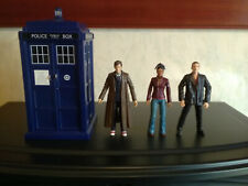 Dr Who Electronic Tardis & x3 Action Figures