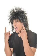 Halloween Rocker Rock Star Rock'n Roll Star Wig H0496BK