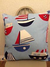 "23"" large Prestigious Textiles Ships Nursery cushion (inner included) hand made"