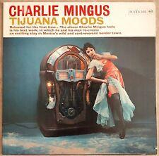 Charlie Mingus-Tijuana Moods Lp NM 1964 Italian Issue RCA VICTOR-LPM 2533