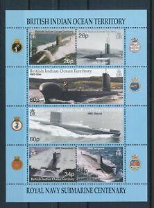 [G44007] Indian Ocean Territory 2001 Submarine Good sheet VF MNH