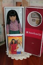 """Retired American Girl Doll Ivy NIB, 18"""", Boots, Removed But Never Used."""