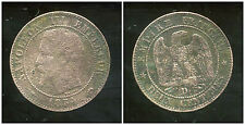 2  centimes  NAPOLEON III 1854  D   (  grand D )