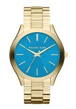 Michael Kors Slim Runway MK3265  Turquoise Dial  Wrist Watch