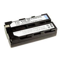 NP-F550 F570 Battery for SONY DCR-TRV9 DCR-TRV900 DCR-VX2000 DCR-VX2100 /VX700