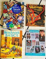 4 Beading instruction Books Ann Benson Maureen Murray Nicolette Stessin Basics