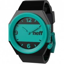 New Neff Stripe Wrist Watch Black Teal