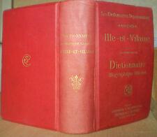 DICTIONNAIRE BIOGRAPHIQUE ILLUSTRÉ : ILLE-ET-VILAINE/ portraits / ca. 1900