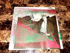 Brian Setzer Rare Signed Promo LP Record The Knife Feels Like Justice Stray Cats