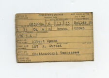 1955 Tennessee License
