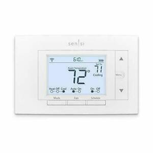 Emerson Sensi ST55 Smart Thermostat - White