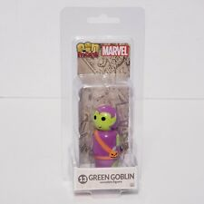 Marvel Wooden Figure Green Goblin PIN Mate Collectible Comic Designer Toy NEW
