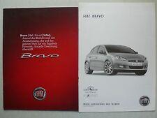 Prospekt Fiat Bravo, 2.2007, 22 Seiten + Preise/Technik/Ausstattung