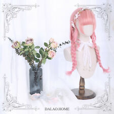 Lolita Curly Hair Wigs Japanese Mori Girl Harajuku Pink Princess Wig Dolly Gifts