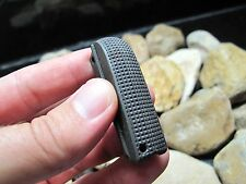 1911 45 Blue Checkered Arched Mainspring Housing Made USA in Texas .45 ACP