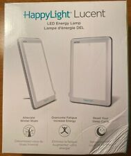 Verilux HappyLight Lucent 10000 Lux LED Bright White Light Therapy Lamp