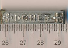 ROMANIA Bar CLASP for 1941 Crusade Against Communism Medal WW2 Silvered DONET RR