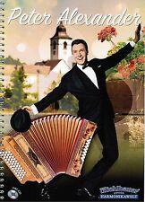 Steirische Harmonika Noten : Peter Alexander - 6 Stücke - mit CD - Griffschrift