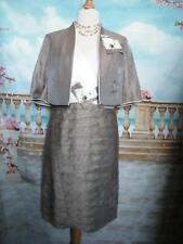 Designer Robe et Bolero Veste Taille 14 Mariage Tenue Costume mère de la mariée