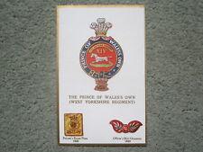 Gale & Polden Regimental Badges 1614. Prince of Wales' Own (West Yorkshire Regt)