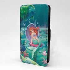 Para Funda para Estuche Abatible Apple iPod Touch Sirenita Ariel-T1133