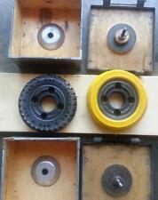 """1-Sandvik Steel Cutting Carbide Insert Cutters 8"""" dia. 32-inserts"""