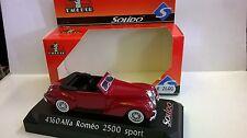 Solido 1 43 Die cast auto Alfa Romeo 2500 Sport rojo arte 4160