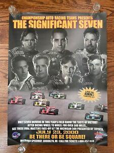 2000 Michigan 500 RACE POSTER Indy Car CART Andretti Montoya Vasser Tony Kanaan