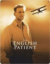The English Patient Steelbook - UK Limited Edition Blu-ray Region B*