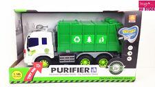 Toy Truck Garbage Trash Sanitary Hauling Rubbish Kids Boys Birthday Gift T1199-1