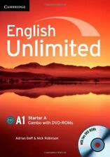 English Unlimited Starter A Combo with DVD-ROM, Robinson, Nick, Doff, Adrian, Ve