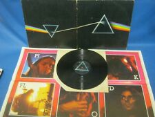 RECORD ALBUM PINK FLOYD THE DARK SIDE OF THE MOON with Poster A3 B2 5858