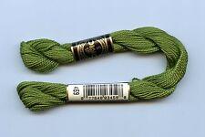 DMC Coton Perle 5 #469 Avocado Green 100% Mercerized Pearl Cotton Thread 27yds