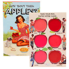 The Balm HOW BOUT THEM APPLES Lip and Cheek Palette 6 Shade New Full Sz POWDER