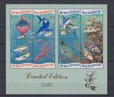 D. Fish Marine Life New Zeland Block 81 (MNH)
