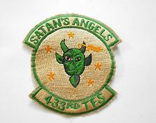 Patch_ USAF 433rd TFS Tactical Fighter Squadron Military Patch SATAN'S ANGELS