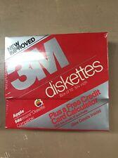 NIB NOS NEW Pack Of 10 3m Apple Lisa Fileware Floppy diskettes Very Rare