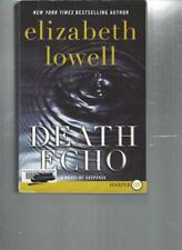 ELIZABETH LOWELL - DEATH ECHO - LARGE PRINT - LP113