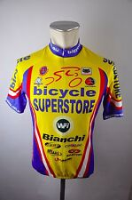 Cannibal Superstore CYCLING BIKE Ironman JERSEY MAILLOT Ruota Maglia G S 47cm k-14