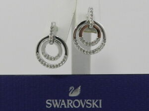 Swarovski Medium Circle Earrings 5349203